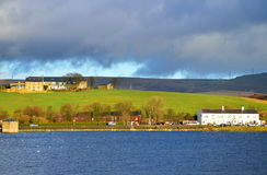 Hollingworth Lake in Rochdale Lancashire Royalty Free Stock Images