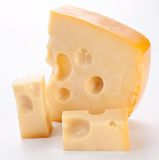 Holländischer Käse. Stockbild