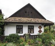 Holloko匈牙利欧洲民族志学村庄 库存照片