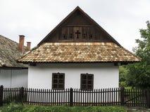 Holloko匈牙利欧洲民族志学村庄 免版税图库摄影