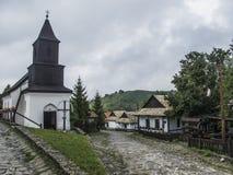 Holloko匈牙利欧洲民族志学村庄 免版税库存图片