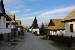 Holloko в Венгрии, 3-ье января 2016 Стоковое Изображение
