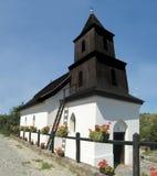 Holloko Church. Historic wooden church in Holloko, Hungary Stock Photos