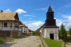 Holloko Dorf Lizenzfreie Stockfotografie