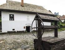 Holloko hungary europe ethnographic village Royalty Free Stock Photo