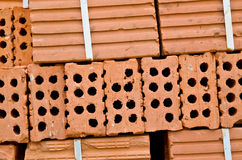 Hollow brick royalty free stock photography