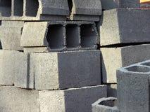 Hollow bricks Royalty Free Stock Image