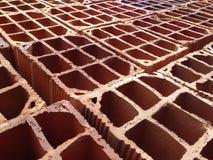 Hollow bricks Stock Images