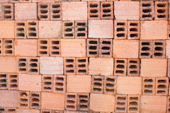 Hollow bricks Stock Image