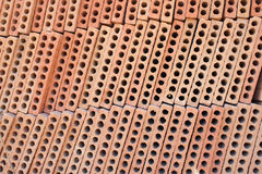 Hollow bricks Stock Photos
