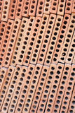 Hollow bricks Royalty Free Stock Photos