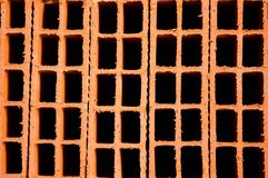 Free Hollow Clay Brick Background Stock Image - 24547421
