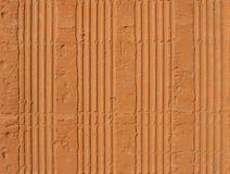 Hollow clay brick pattern Stock Image
