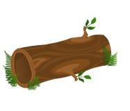 Hollow Log vector illustration