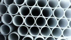 Hollow pipe abstraction Royalty Free Stock Photos