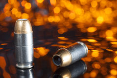 Hollow point ammo Royalty Free Stock Photo