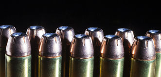 Hollow point bullets Stock Photos