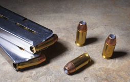 Hollow point Stock Image