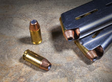 Hollow points Stock Image