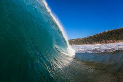 Hollow Power Wave Water  Royalty Free Stock Images