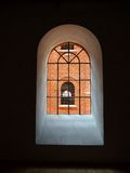 Hollow window. Royalty Free Stock Photo