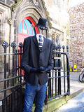 Hollowman in england Royalty Free Stock Photo