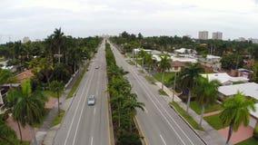 Hollwyood Florida antennlängd i fot räknat arkivfilmer