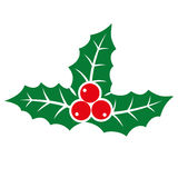 Holly berry icon. Stock Images