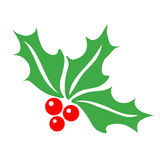 Holly Berry Symbo Royalty Free Stock Images