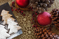 Holly Christmas Decoration Stock Photography