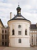 Holly Cross-kapel in het kasteel van Praag Stock Foto's