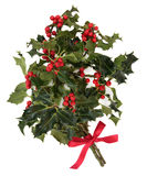 Holly Decoration Royalty Free Stock Photography