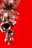 holly dzwonek srebra Zdjęcia Royalty Free