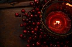 Holly Glow roja Fotos de archivo