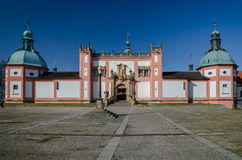 Holly Hill monastery 1, Pribram Royalty Free Stock Image