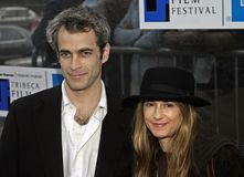 Holly Hunter en el 2do festival de cine de Tribeca Fotografía de archivo