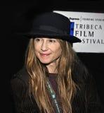 Holly Hunter no ò festival de cinema de Tribeca Fotos de Stock Royalty Free
