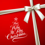 Holly Jolly Merry Christmas Stock Images