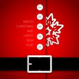 Holly-jolly-santa Royalty Free Stock Photo