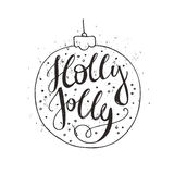 Holly Jolly Royalty Free Stock Images