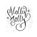 Holly Jolly Royalty Free Stock Photos