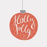 Holly Jolly Stock Photos