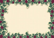 Free Holly Leaves Border 2 Stock Photo - 6752200