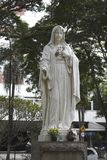 Holly Mary Statue Royalty Free Stock Photo