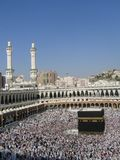 Holly Mecca. Holly Kaaba in Mecca, Saudi Arabia royalty free stock image