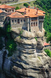 The holly monastery of Varlaam, Meteora, Greece Stock Images
