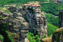 The holly monastery of Varlaam, Meteora, Greece Royalty Free Stock Images