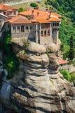 The holly monastery of Varlaam, Meteora, Greece Stock Photos