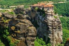 The holly monastery of Varlaam, Meteora, Greece Stock Photography