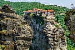 The holly monastery of Varlaam, Meteora, Greece Royalty Free Stock Photo